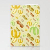 Banana & Peanut Butter Stationery Cards