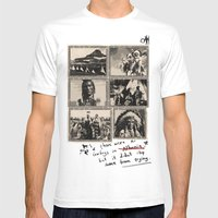 Feel The Life Of Red Ind… Mens Fitted Tee White SMALL