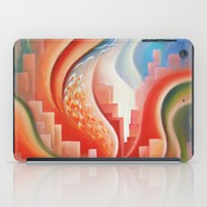 Hibiscus City iPad Case