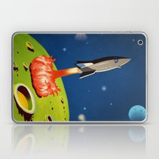 The World Of Outer Space Travel Laptop & iPad Skin