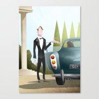 The Gentleman Canvas Print