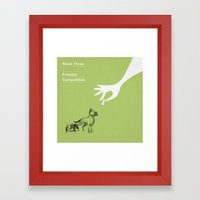 The Guide To Gentlemanly… Framed Art Print