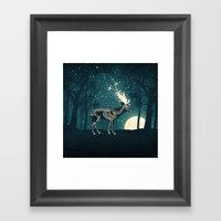 The Forest Of The Lost S… Framed Art Print