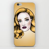 Blonde Beauty iPhone & iPod Skin