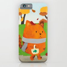 A Lovely Walk To The Shops In Autumn iPhone 6s Slim Case