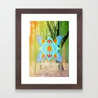Pirate Way Framed Art Print