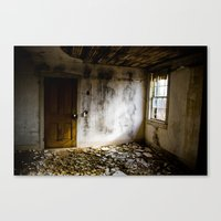 Upstairs Room Canvas Print