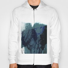 brush strokes 8 Hoody