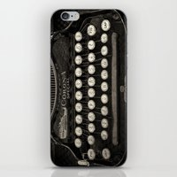 Old Typewriter Keyboard iPhone & iPod Skin