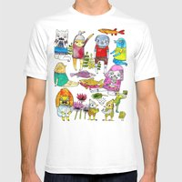 Critter Collection Mens Fitted Tee White SMALL