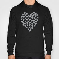 Hearts Heart Black Hoody