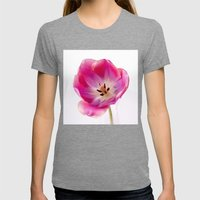Pink Tulip Womens Fitted Tee Tri-Grey SMALL