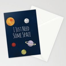 I Just Need Some Space Stationery Cards
