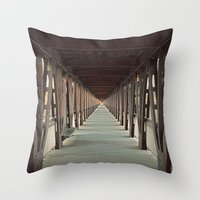 Forcing My Perspective Throw Pillow