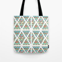 Aztec shapes Tote Bag