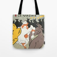 Moolin Rouge - This Cow … Tote Bag