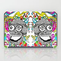 The Candy Skull iPad Case
