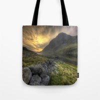 Tryfan By Morning Tote Bag