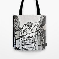 Ninjitsu Lane Tote Bag