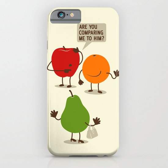 Like Apples and Oranges iPhone & iPod Case