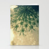 Queen anne's lace 01 Stationery Cards