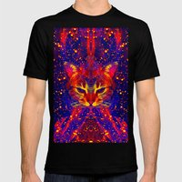 Atziluth-Lady Jasmine  Mens Fitted Tee Black SMALL