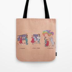 Engineering A Differential Drive Unicorn (Rainbow Included!) Tote Bag