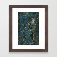 Dr. Who Framed Art Print