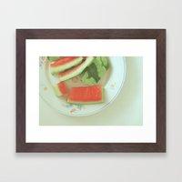 Tasted Framed Art Print