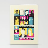 Doctor Who - The Ninth D… Stationery Cards