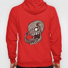 Little piece of my heart for the Giant skull Hoody