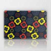Blooming Wild (red & Yel… Laptop & iPad Skin