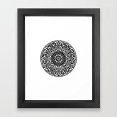 Spiritual Mandala Framed Art Print