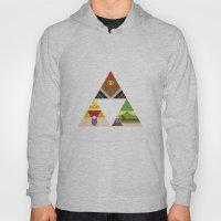 The Legend of Zelda: Legend of the Triforce Hoody