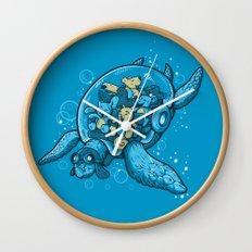 FLYING DEEP Wall Clock