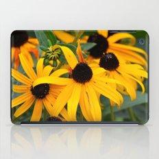 Golden Flowers iPad Case