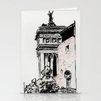 The lovers of the Capitoline Hill - Rome Stationery Cards