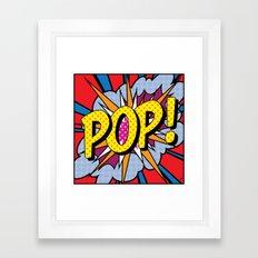POP Art #4 Framed Art Print