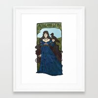 pagan poetry Framed Art Print