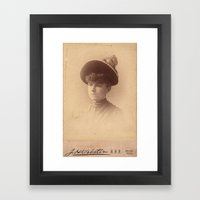 Can't Be Bothered By Bra… Framed Art Print