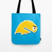 Angry Phish Tote Bag