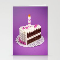 Let Them Build Cake! Stationery Cards