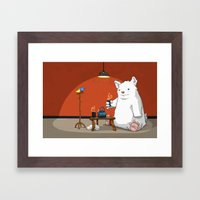 Tea For Three Framed Art Print