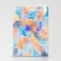 Seaglass Mosaic Stationery Cards