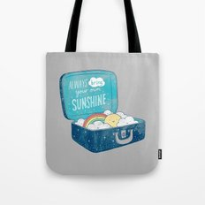 Always Bring Your Own Su… Tote Bag