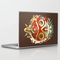 Laptop & iPad Skin featuring The Days of Gods and Demons by The Art of Danny Haas
