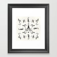 Faunorama Framed Art Print