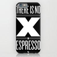 No X in Espresso – Dark Grey iPhone 6 Slim Case