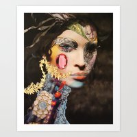 Pink Sapphire Art Print