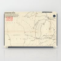 Railroad & The Northwestern States in 1850 iPad Case